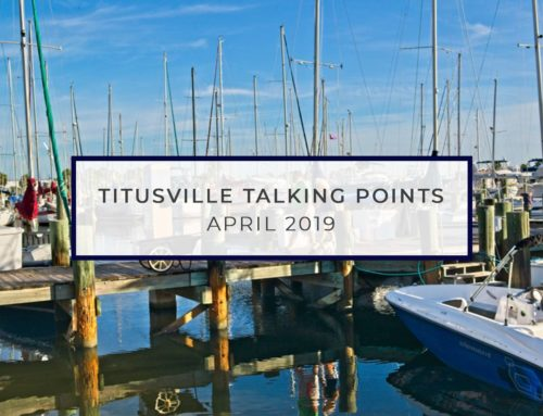 Titusville Talking Points – April 2019