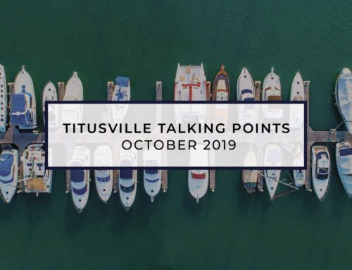 Titusville Talking Points – Oct 2019