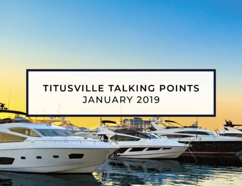 Titusville Talking Points – January 2019