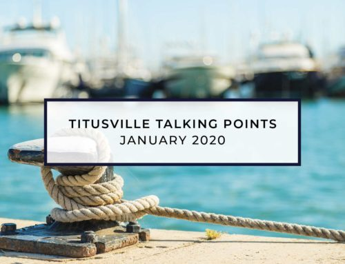 Titusville Talking Points – Jan 2020