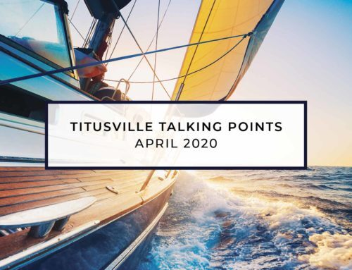 Titusville Talking Points – April 2020