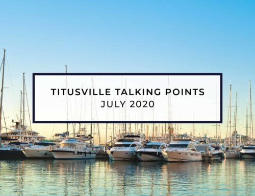 Titusville Talking Points – July 2020