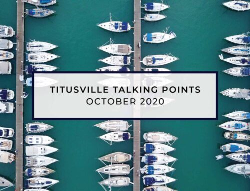 Titusville Talking Points – October 2020