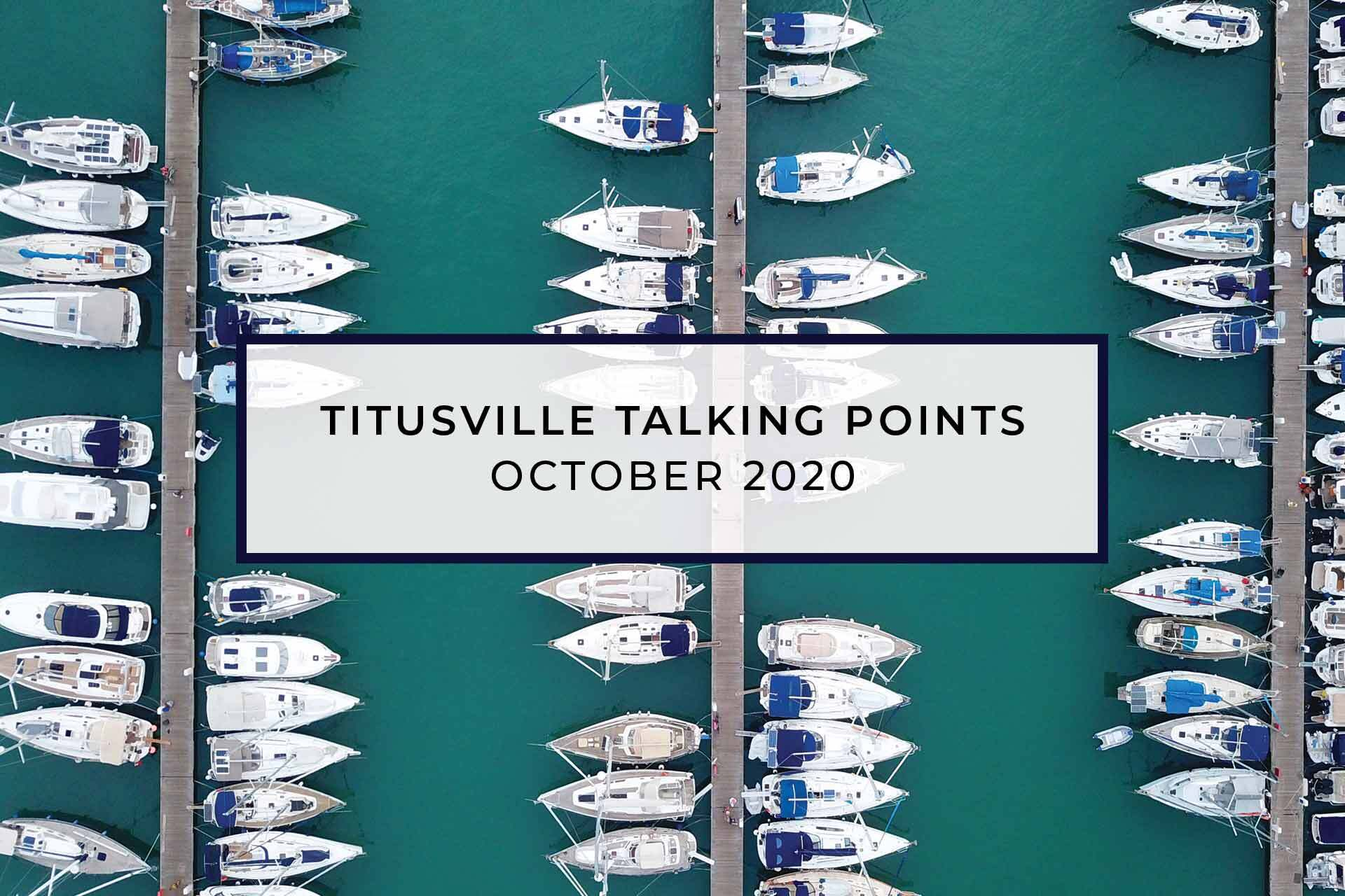 Titusville Talking Points | Titusville Marina